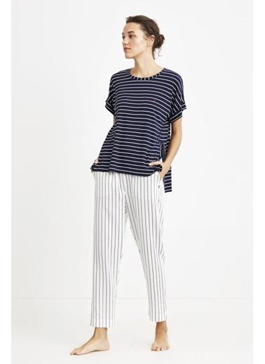 Nautica W103 Pijama Takım Lacivert